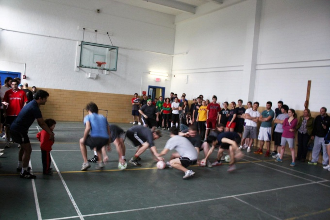 ArchGSA Dodgeball tournament 2012.