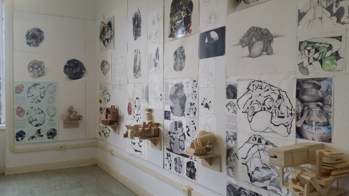 Exhibition of final work