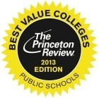 Princeton Review Seal of Best Value.