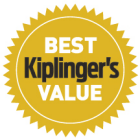 Kiplingers Best value seal.