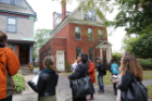 Historic preservation students on a tour of Buffalo's historic homes. Photographer: Maryanne Schultz