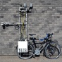 A project of Nick Rajkovich's - a bike that collects temperature data in urban environments.