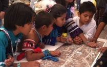 Zuni children participate in the process of planning in their community.