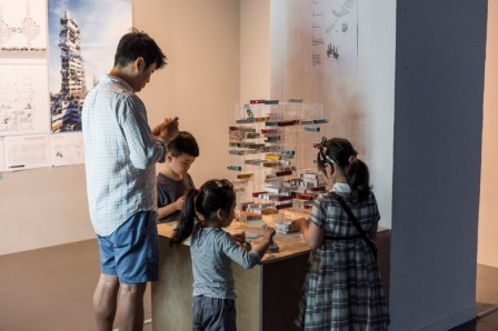 Connected Living - at Self-Evolving City Exhibition, Seoul, South Korea.
