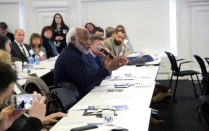 Community members participate in the Affordable Housing Symposium at UB in April