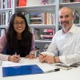Joyce Hwang and Korydon Smith take over as co-leaders of UB's architecture department.