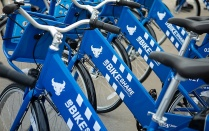 Reddy bikeshare bikes photo