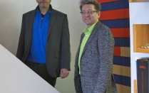 Current partners of HHL Architects Matthew Meier and Kenneth Riter