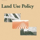 Land Use Policy Journal cover.