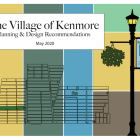 Report cover for Village of Kenmore Plan.
