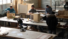 Students of the Buffalo School of Architecture and Planning work in our shop